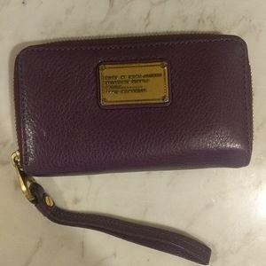 Marc by Marc Jacobs Purple Wallet